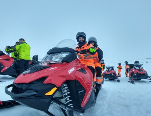 Snowmobiles!